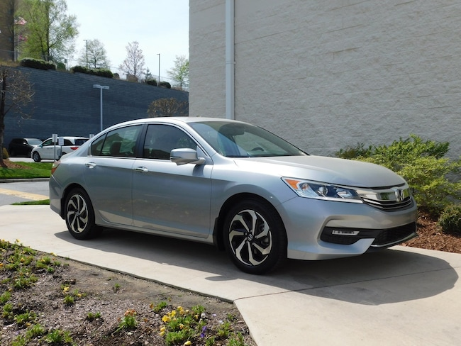 Certified Pre-Owned 2017 Honda Accord EX-L Sedan for sale in Greenville, NC
