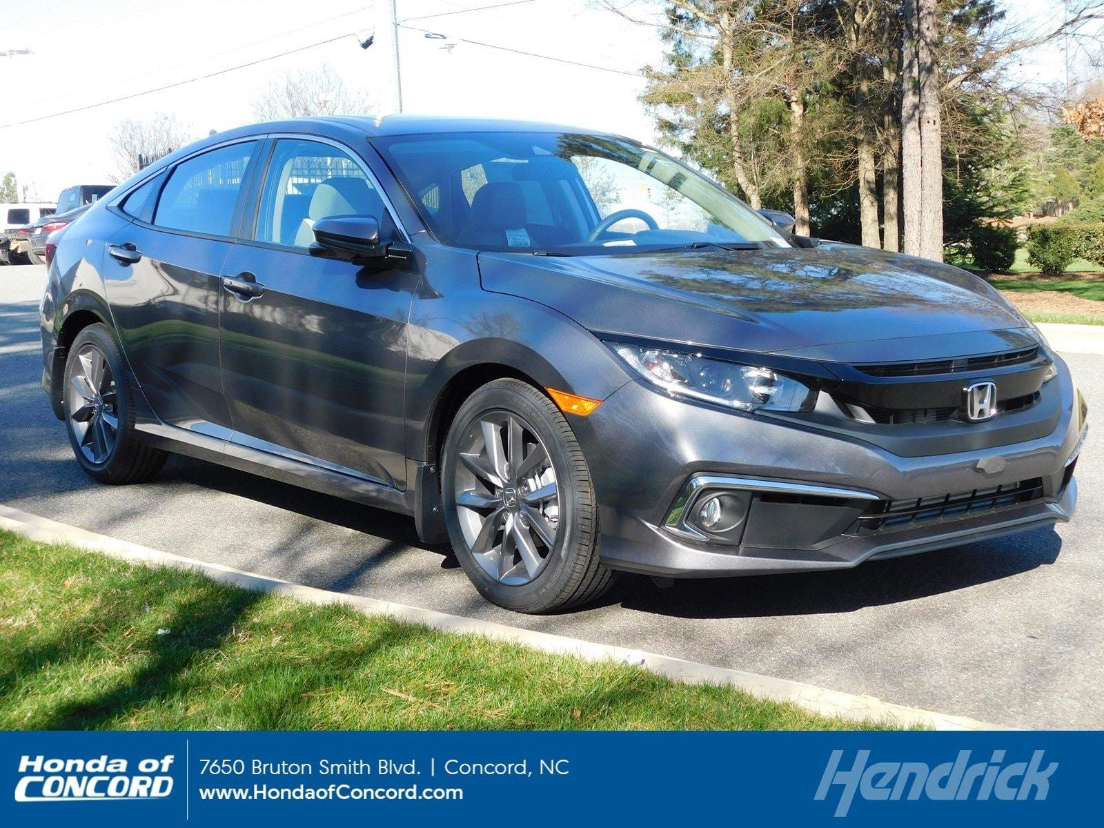2019 Honda Civic EX CVT Sedan