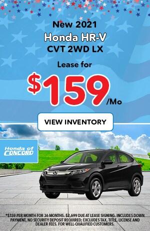 New 2020 HR-V CVT AWD SUV