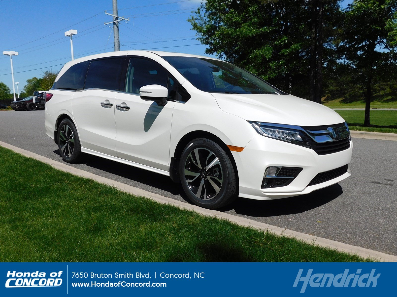 2019 Honda Odyssey in Concord, serving Charlotte