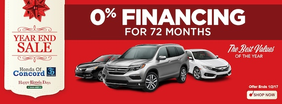 Interested In Our 0 Financing Special Let S Get Started Honda Of Concord