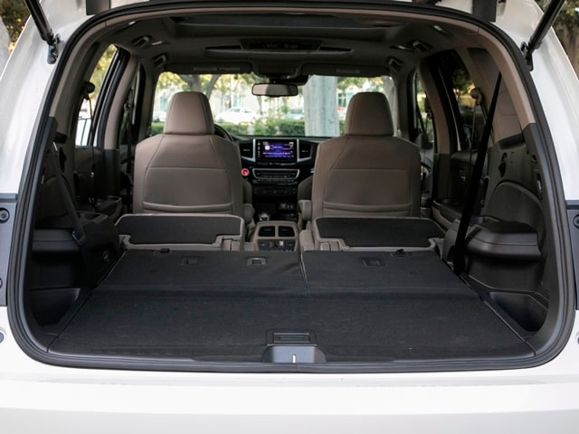 Honda Pilot Interior Storage Space
