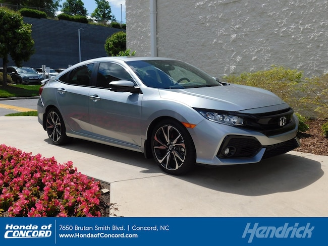 Honda Civic Si Used >> Certified Used 2018 Honda Civic Si For Sale Honda Of Concord Near