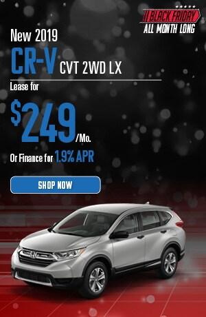 New 2019 CR-V CVT 2WD LX