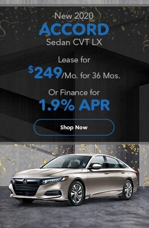 New 2020 Accord Sedan CVT LX