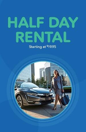 Half Day Rental