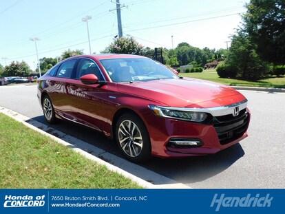 2019 Honda Accord Hybrid Ex L For Sale Near Concord Charlotte Nc 1hgcv3f56ka015474