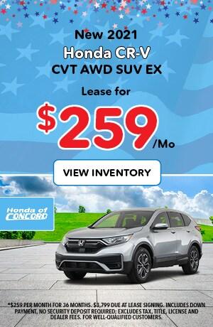 New 2020 CR-V CVT 2WD EX