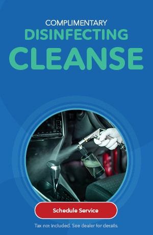 Complimentary Disinfecting Cleanse