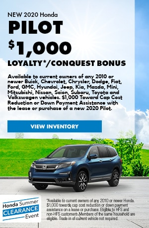 $1,000 Pilot Loyalty/Conquest Bonus