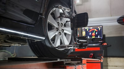 Resolve to save fuel with 4-Wheel Tire Alignment