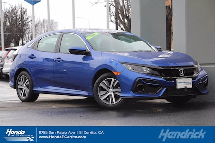 2020 Honda Civic LX Hatchback