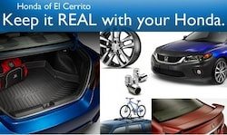 Personalize your Honda with OEM Accessories!