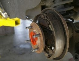 Resolve to STOP with our Rear Brake Service!