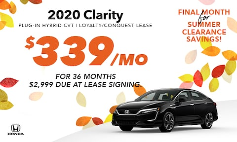 2020 Clarity Lease Offer