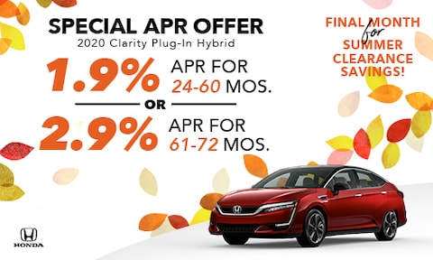 2020 Clarity APR Offer
