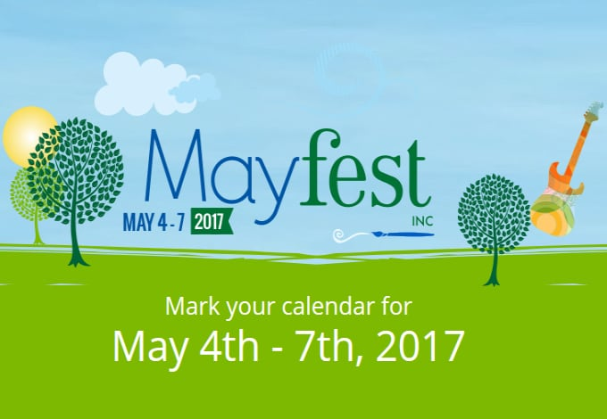 Mayfest 2017 in Fort Worth Texas