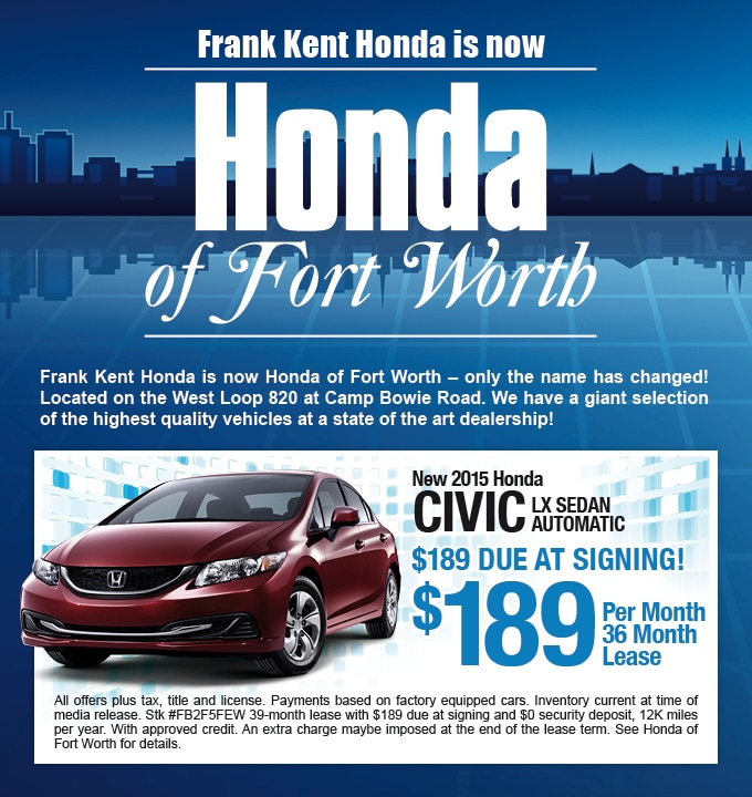 Delightful Contact. Honda Of Fort Worth