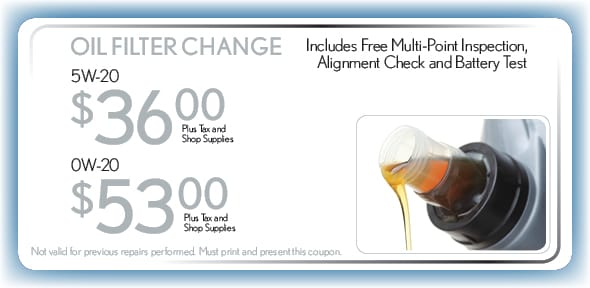 Oil Change, Fort Worth, TX Automotive Service Special Special