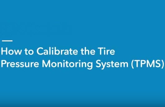 How to Calibrate Honda Tire Pressure Monitoring