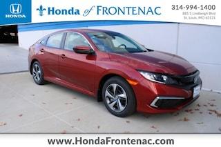 New 2020 Honda Civic LX Sedan for Sale in St. Louis