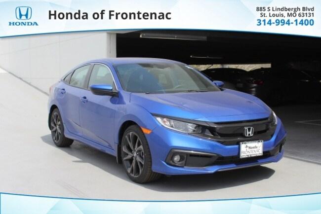 New 2019 Honda Civic Sport Sedan in St Louis, MO