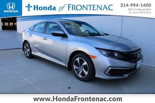New 2020 Honda Civic LX Sedan 19XFC2F64LE030719 for Sale in St. Louis