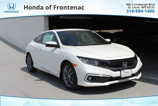 New 2019 Honda Civic EX Coupe 2HGFC3B39KH353685 for Sale in St. Louis