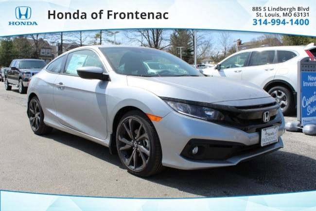 New 2019 Honda Civic Sport Coupe in St Louis, MO