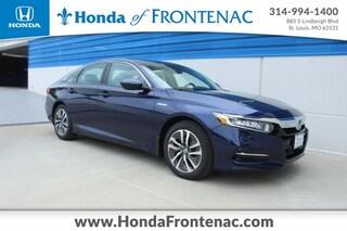 New 2020 Honda Accord Hybrid Base Sedan 1HGCV3F1XLA013032 for Sale in St. Louis
