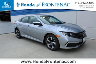 New 2020 Honda Civic LX Sedan 19XFC2F65LE022399 for Sale in St. Louis