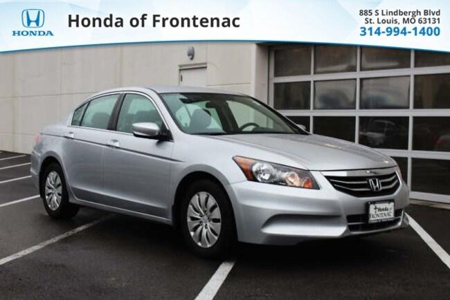 used 2012 Honda Accord 2.4 LX Sedan in Saint Louis, MO