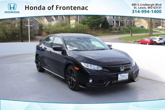 New 2019 Honda Civic Sport Hatchback in St Louis, MO