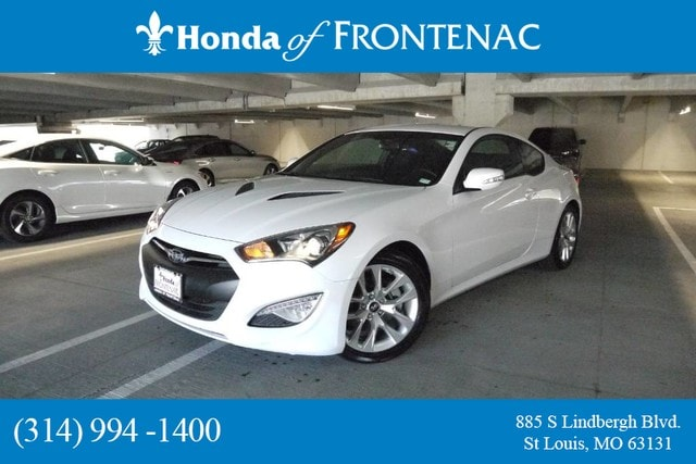2015 used hyundai genesis coupe 3.8 ultimate w/black seats for sale