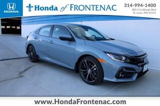 New 2021 Honda Civic Sport Hatchback SHHFK7H40MU212522 for Sale in St. Louis