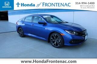 New 2021 Honda Civic Sport Sedan 2HGFC2F84MH532249 for Sale in St. Louis