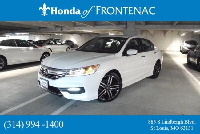 used 2017 Honda Accord Sport Sedan in Saint Louis, MO