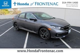 New 2021 Honda Civic Sport Sedan 19XFC2F81ME000886 for Sale in St. Louis