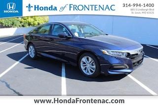 New 2020 Honda Accord LX 1.5T Sedan 1HGCV1F13LA147370 for Sale in St. Louis
