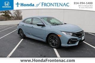 New 2021 Honda Civic Sport Hatchback SHHFK7H41MU209838 for Sale in St. Louis