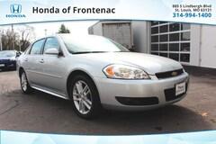 Used 2012 Chevrolet Impala LTZ Sedan under $15,000 for Sale in St. Louis