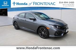 New 2021 Honda Civic Sport Hatchback SHHFK7H40MU205392 for Sale in St. Louis