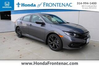 New 2021 Honda Civic Sport Sedan 19XFC2F84ME000882 for Sale in St. Louis