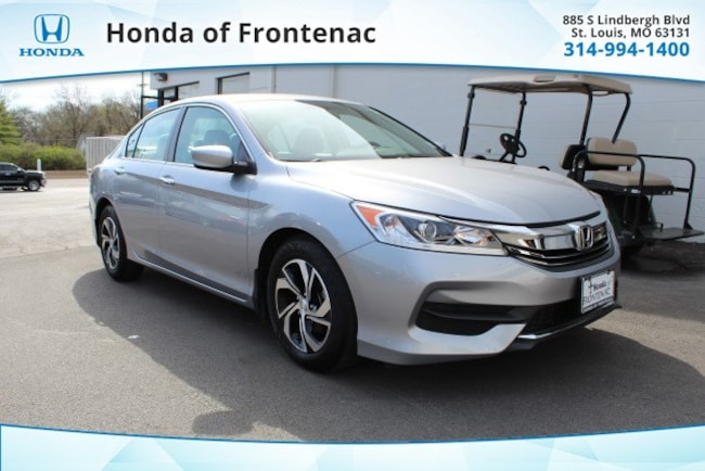 used 2016 Honda Accord LX Sedan in Saint Louis, MO