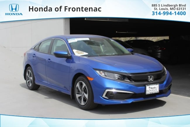 New 2019 Honda Civic LX Sedan in St Louis, MO