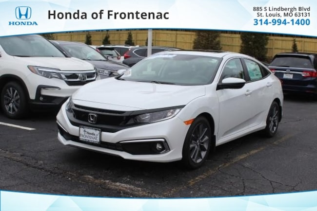 New 2019 Honda Civic EX Sedan in St Louis, MO