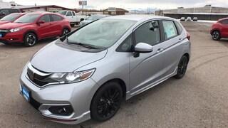 New 2018 Honda Fit Sport w/Honda Sensing Hatchback Great Falls, MT