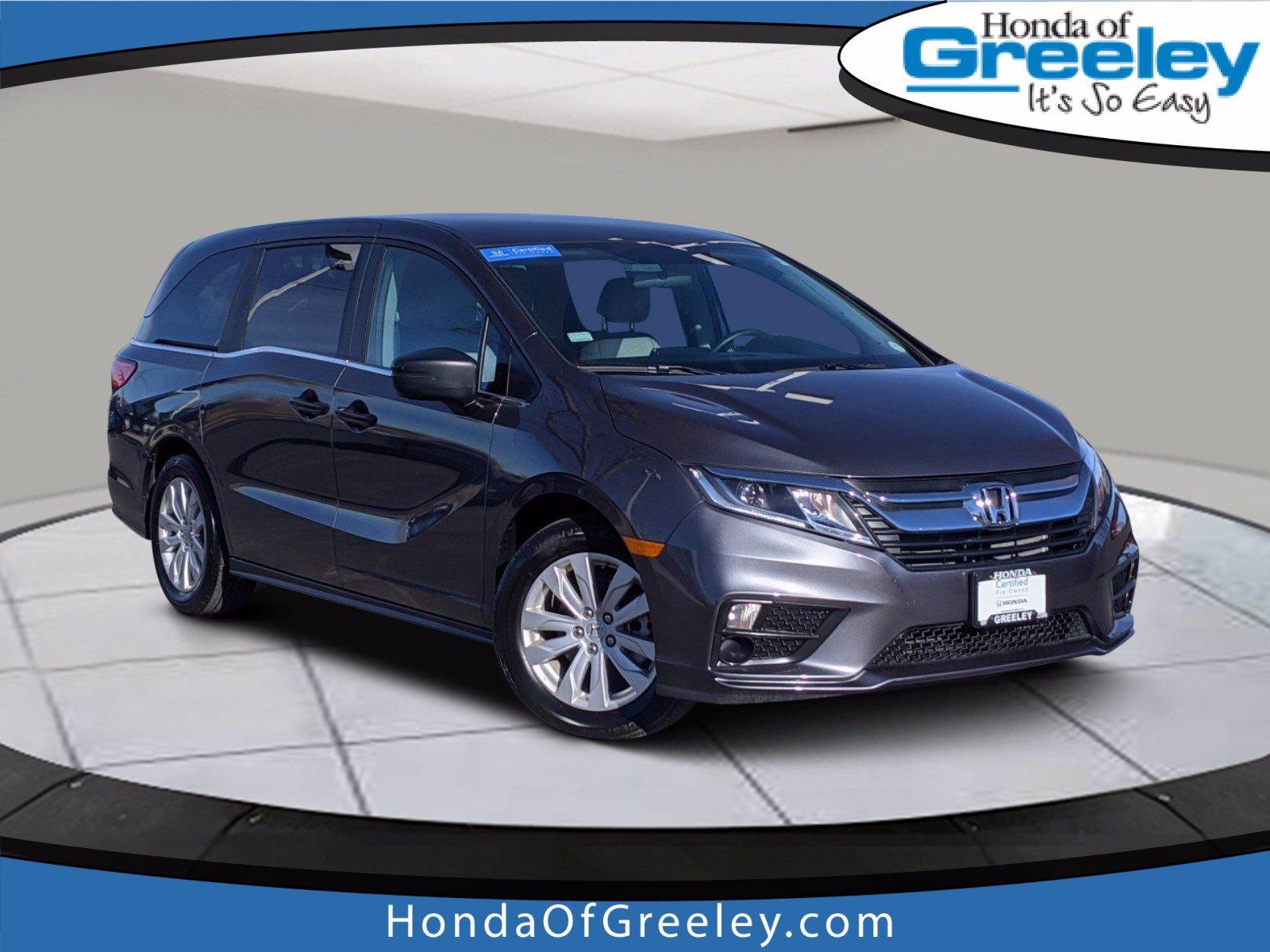 Used 2020 Honda Odyssey For Sale At Honda Of Greeley Vin 5fnrl6h25lb028826