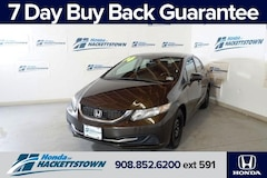 2014 Honda Civic 4dr CVT LX Car