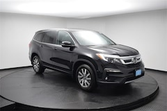 Used 2019 Honda Pilot EX-L AWD SUV 190901 for Sale in Springfield, IL, at Honda of Illinois